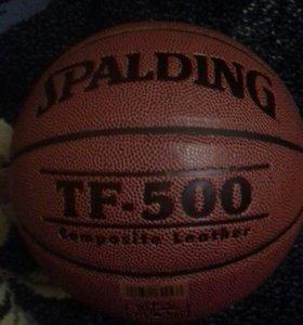 Мяч баскетбольный spalding tf-500 размер 6