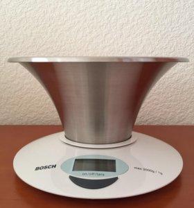 Весы кухонные с чашей Bosch
