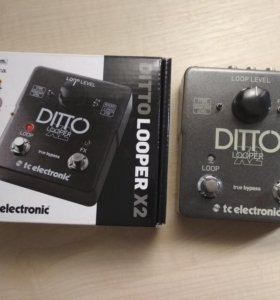Педаль TC Electronic Ditto X2 looper