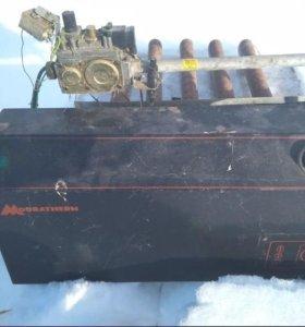 Горелка и автоматика газового котла