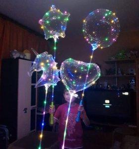 Светящиеся шары.