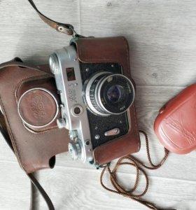 Фотоаппарат ФЕД 3 + фотоэкспонометр