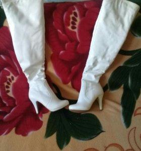 Сапоги зимние 38 размер на узкую ногу