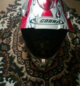 Мото шлем Кобра
