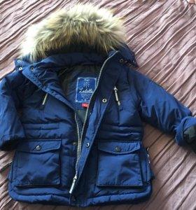 Куртка-пуховик детская 104р