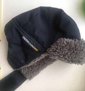 Зимняя шапка Didrikson (Швеция) на 4-5 лет (52 см)