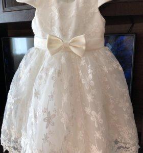 Новогоднее платье для девочки (100-116 см)
