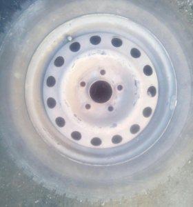 Зимнии колёса