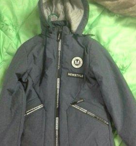 Куртка на мальчика 13-14 лет