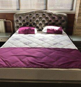 Кровать Виктория 200х160 с ортопедической решеткой