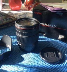 Sigma 18-200 mm f3.5-6.3 dc f/nikon