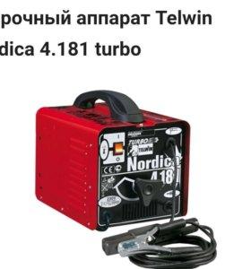 Новый сварочный трансформатор Telwin Nordica 4.181
