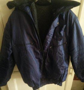 мужская куртка осень-зима с подстежкой