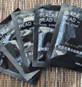 черная маска для носа