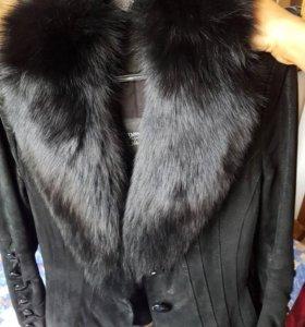Нат. Куртка с поясом.