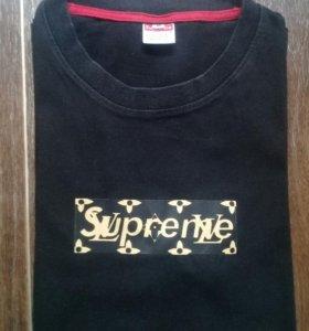 supreme x lv   суприм лв футболка