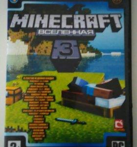 Компьютерная игра Minecraft на диске