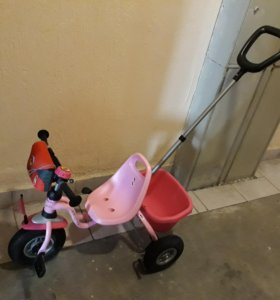 велосипед розовый puky