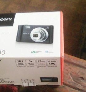 Цифровой фотоаппарат Sony DSC - W800