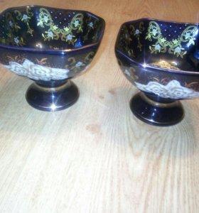 2 вазочки - креманки