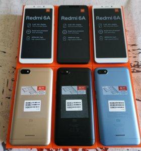 Xiaomi Redmi 6A 2-16Гб новые, гарантия