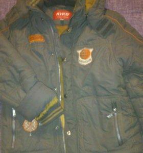 Куртка и комбинезон на ребенка 9 лет
