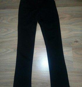 Новые брюки на флисе для девочки