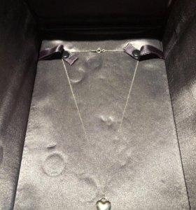 Подвеска-медальон в форме сердца Tiffany&Co