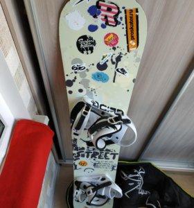 Сноуборд Mammoth комплект