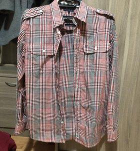 Мужская рубашка Tommy Hilfiger новая оригинал