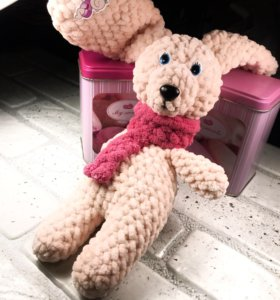 Амигурими зайка игрушка