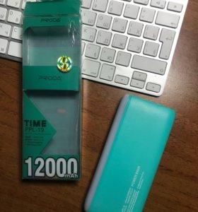Портативный аккумулятор PowerBank PRODA 12000 мАч