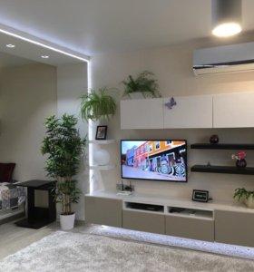 Квартира, студия, 57 м²
