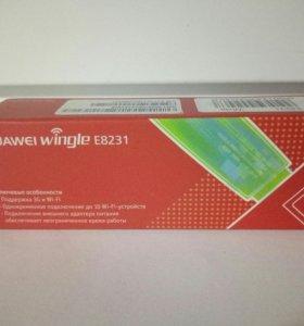 Модем 3G Huawei Wingle E8231 белый (новый)
