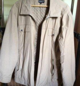 Куртка муж осенняя разм 54