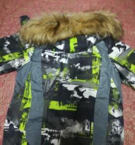 Куртка зимняя рост 152