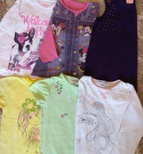 Вещи для девочки 3-4 лет (пакетом)