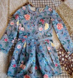 Платье для девочки, на рост 104 - 110