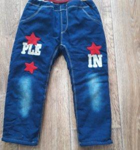Утепленные джинсики!