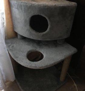Большой кошкин дом / домик для кошки , кота