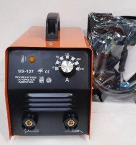 Сварочный 220в аппарат SS-137, до 230А. Новый!