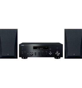 Hi-Fi ресивер Yamaha R-N500 + колонки NS-6490