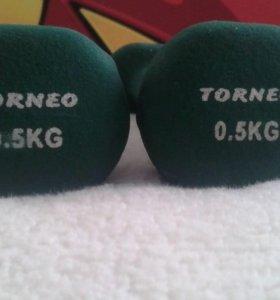 Гантели TORNEO