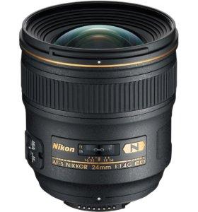 Nikon Nikkor AF-S 24mm f/1.4G ED