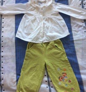 Кофта и штаны 86-92 р