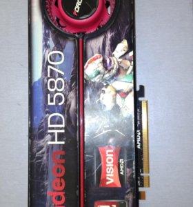 Видеокарта Ati Radeon HD 5870