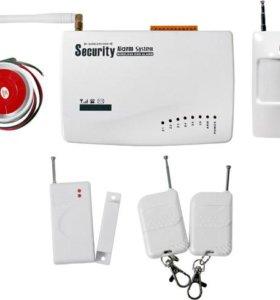 Беспроводная GSM сигнализация для дачи, гаража