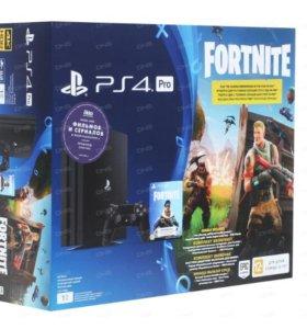 PlayStation 4 Pro + Fortnite