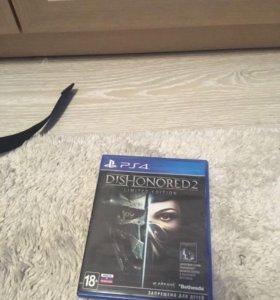 Игры на ps4.Battlefield 1 и Dishonored 2
