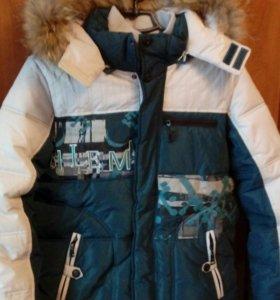 Куртка зимняя подростковая р.140